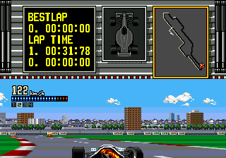 Ferrari Grand Prix Challenge (USA) In game screenshot