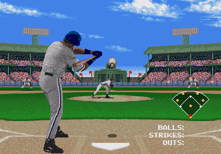 Frank Thomas Big Hurt Baseball (USA, Europe) In game screenshot