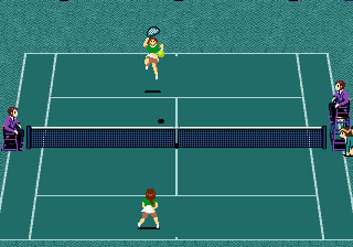 GrandSlam - The Tennis Tournament (Europe) In game screenshot