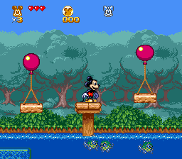 Great Circus Mystery Starring Mickey & Minnie, The (USA) In game screenshot