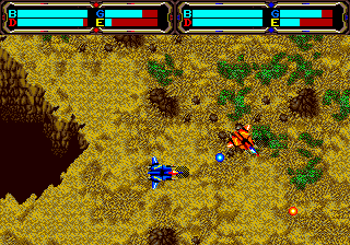 Herzog Zwei (USA, Europe) In game screenshot
