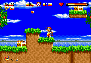 High Seas Havoc (USA) In game screenshot