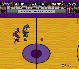 Hyper Dunk - The Playoff Edition (Japan) In game screenshot