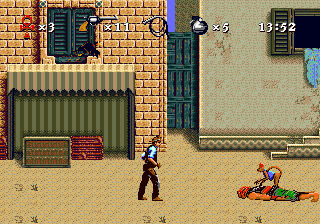 Instruments of Chaos Starring Young Indiana Jones (USA) In game screenshot