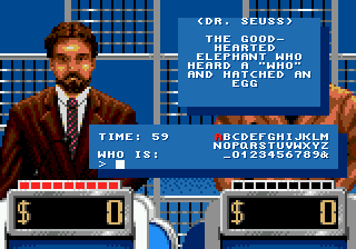 Jeopardy! Deluxe (USA) In game screenshot