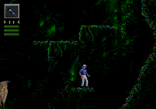 Jurassic Park (Japan) In game screenshot
