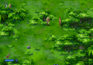 Jurassic Park 2 - The Lost World (USA, Europe) In game screenshot