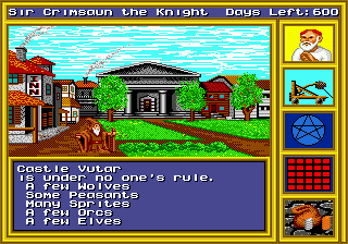 King's Bounty - The Conqueror's Quest (USA, Europe) In game screenshot