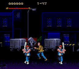 Last Action Hero (USA, Europe) In game screenshot