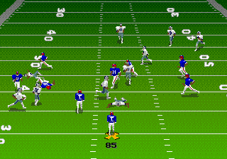 Madden NFL 95 (USA, Europe) In game screenshot