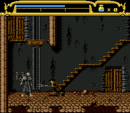 Mary Shelley's Frankenstein (USA) In game screenshot