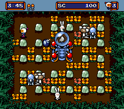 Mega Bomberman (USA) In game screenshot
