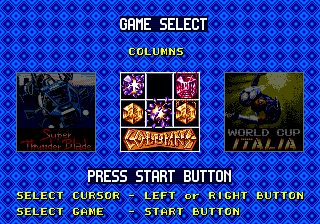 Mega Games 6 Vol. 2 (Europe) In game screenshot