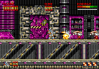 Mega Turrican (1994) by Factor 5 for Mega Drive