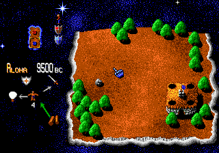 Mega-Lo-Mania (Japan) In game screenshot