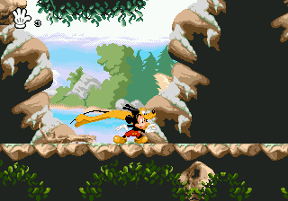 Mickey Mania - The Timeless Adventures of Mickey Mouse (Japan) In game screenshot