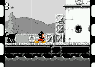 Mickey Mania - The Timeless Adventures of Mickey Mouse (USA) In game screenshot