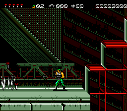 Midnight Resistance (Japan) In game screenshot