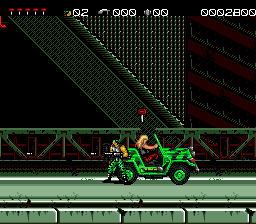 Midnight Resistance (USA) In game screenshot