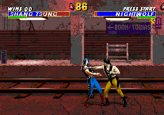 Mortal Kombat 3 (Europe) In game screenshot