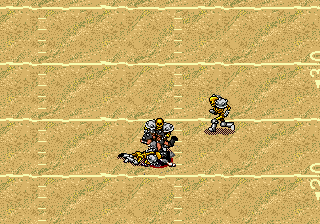 Mutant League Football (Japan) In game screenshot