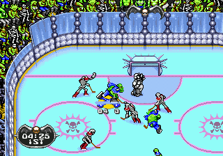 Mutant League Hockey (USA, Europe) In game screenshot