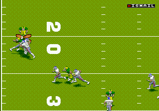 NFL 98 (USA) In game screenshot