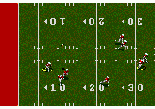 NFL Sports Talk Football '93 Starring Joe Montana (USA, Europe) In game screenshot