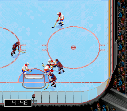 NHL 97 (USA, Europe) In game screenshot