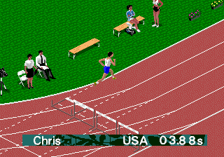 Olympic Summer Games (USA, Europe) In game screenshot