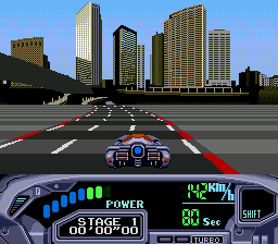 OutRun 2019 (Japan) In game screenshot
