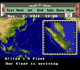 Pacific Theater of Operations (USA) In game screenshot