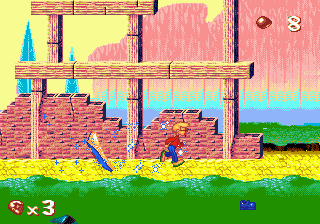 Pagemaster, The (USA) In game screenshot
