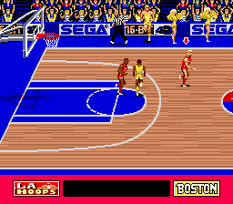 Pat Riley Basketball (USA) In game screenshot