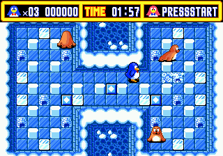Pepenga Pengo (Japan) In game screenshot