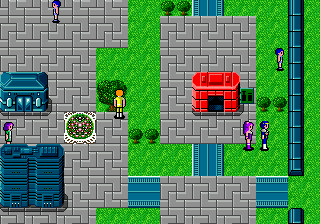 Phantasy Star II (Brazil) In game screenshot