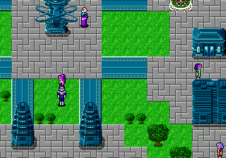 Phantasy Star II (USA, Europe) (v1.2) In game screenshot