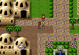 Phantasy Star IV (USA) In game screenshot