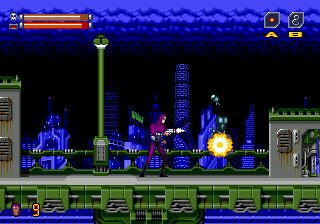 Phantom 2040 (Europe) In game screenshot