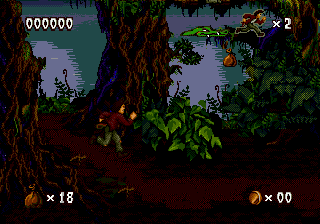 Pitfall - The Mayan Adventure (Europe) In game screenshot