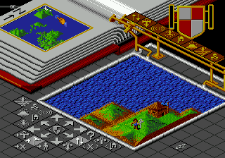 Populous (Japan) In game screenshot