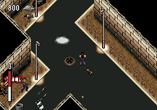 Predator 2 (USA, Europe) In game screenshot