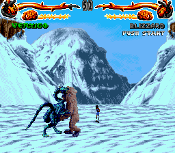 Primal Rage (USA, Europe) In game screenshot