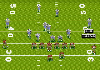 Prime Time NFL Starring Deion Sanders (USA) In game screenshot