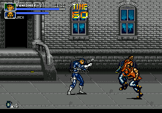 Punisher, The (USA) In game screenshot