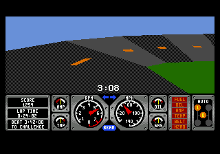 Race Drivin' (USA) In game screenshot
