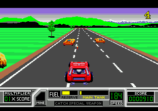RoadBlasters (Japan) In game screenshot