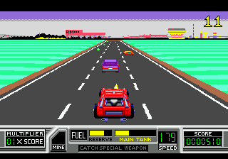 RoadBlasters (USA) In game screenshot