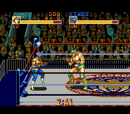 Saturday Night Slammasters (USA) In game screenshot