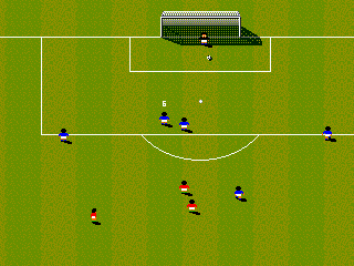 Sensible Soccer (Europe) (En,Fr,De,It) In game screenshot